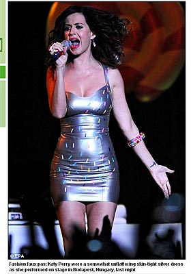 Katy Perry in the Daily Mail