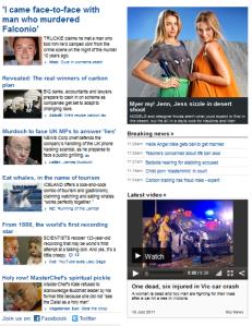 News.com.au 15 July 2011