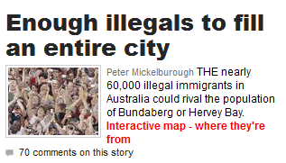 Couriermail.com.au and immigration