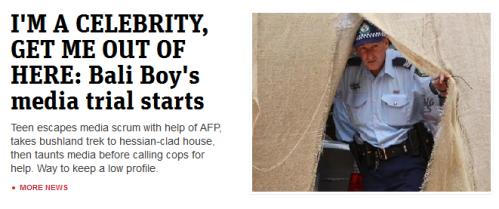 News.com.au and the Bali boy