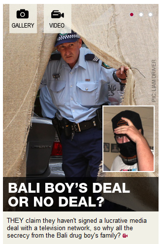 Daily Telegraph and the Bali boy