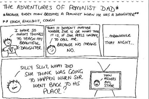 The Adventures of Feminist Dad - cup of milo edition