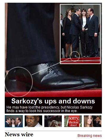 Smh.com.au Sarkozy's shoes