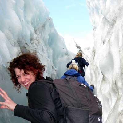 News with Nipples at Franz Josef glacier in NZ