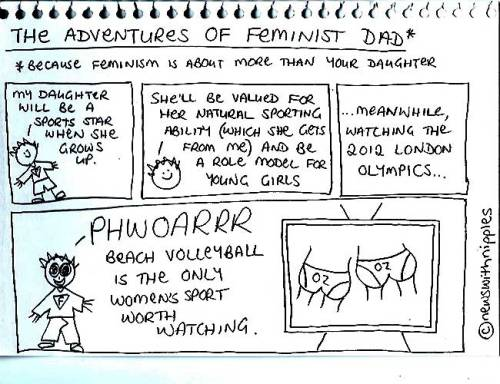 The Adventures of Feminist Dad - 2012 London Olympics edition