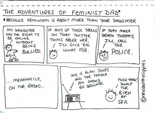 The Adventures of Feminist Dad - Alan Jones edition