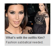 Article by Paula Joye about Kim Kardashian, on smh.com.au