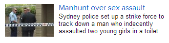 Finally! Someone is reporting this crime the same way other crimes are reported.