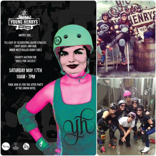 Young Henrys, Inner West Roller Derby League, Jackie Onassis
