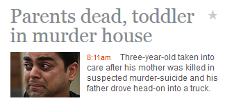 The Age does its best to ensure we don't think about the man being a murderer